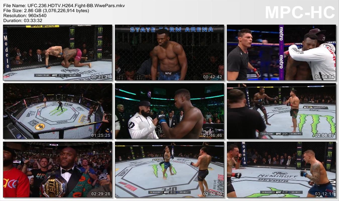 UFC 236 Holloway vs. Poirier 2